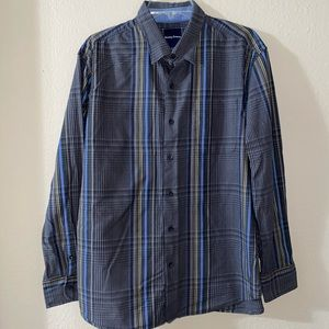 Tommy bahama striped button down shirt
